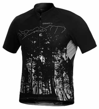 CRAFT Sports Performance Jersey Forest Schwarz Kurzarmtrikot