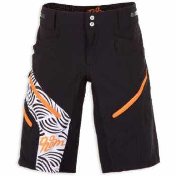 QLOOM Cape York Shorts Black Orange Männer
