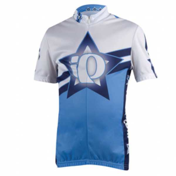 PEARL iZUMi Junior LTD Jersey Blue Star Kurzarmtrikot